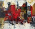 Oil painting reproduction of Abstract014