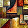 Oil painting reproduction of AbstractB03