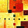 Oil painting reproduction of AbstractB43
