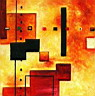 Oil painting reproduction of AbstractB44