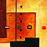 Oil painting reproduction of AbstractB56