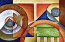 Oil painting reproduction of AbstractB65