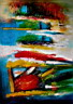 Oil painting reproduction of AbstractC02