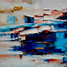 Oil painting reproduction of AbstractC20