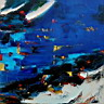 Oil painting reproduction of AbstractC21