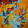 Oil painting reproduction of AbstractC24