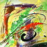 Oil painting reproduction of AbstractC34