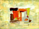 Oil painting reproduction of AbstractC96