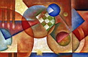 Oil painting reproduction of AbstractE60