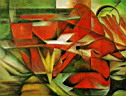 Oil painting reproduction of AbstractF35