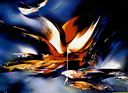 Oil painting reproduction of Abstract259
