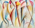 Oil painting reproduction of Abstract355