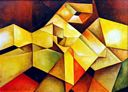 Oil painting reproduction of Abstract381