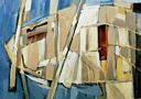 Oil painting reproduction of Abstract602