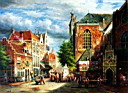 Oil painting reproduction of Architecture002