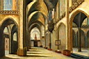 Oil painting reproduction of Architecture009