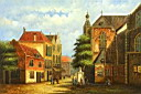 Oil painting reproduction of Architecture010