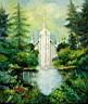 Click to Temple oil painting reproduction gallery
