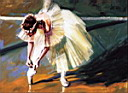 Oil painting reproduction of Ballet125