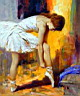 Oil painting reproduction of Ballet126