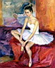 Oil painting reproduction of Ballet127