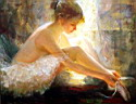 Oil painting reproduction of Ballet129