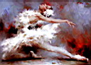 Oil painting reproduction of Ballet130
