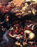 Oil painting reproduction of Adoration Of The Shepherds