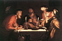 Oil painting reproduction of The Emmaus Disciples