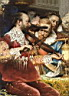 Oil painting reproduction of Baptism of the Conde detail