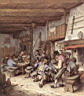 Oil painting reproduction of Tavern Interior
