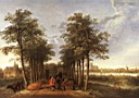 Oil painting reproduction of The Avenue At Meerdervoort