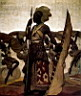 Oil painting reproduction of Africanist001