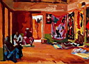 Oil painting reproduction of Africanist008