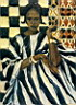 Oil painting reproduction of Africanist014