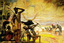 Oil painting reproduction of Africanist018