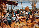 Oil painting reproduction of Africanist050