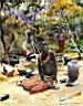 Oil painting reproduction of Africanist101