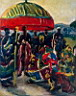 Oil painting reproduction of Africanist110