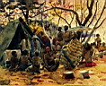 Oil painting reproduction of Africanist116
