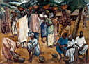 Oil painting reproduction of Africanist119