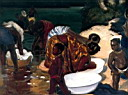 Oil painting reproduction of Africanist166
