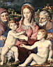 Oil painting reproduction of Holy family