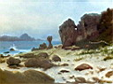 Oil painting reproduction of Bay of Monterey