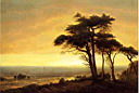 Oil painting reproduction of California Coast