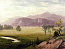 Oil painting reproduction of Conway Meadows, New Hampshire