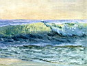 Oil painting reproduction of The Wave c.1880
