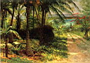 Oil painting reproduction of Tropical Landscape