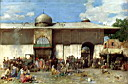 Oil painting reproduction of A Market Scene