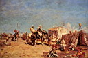 Oil painting reproduction of An Arab Encampment